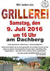 Grillerei 2016